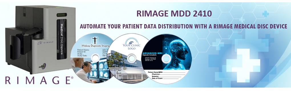 Rimage Medical CD Robot