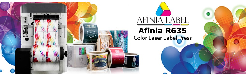 Afinia R635 Laser Label Printer