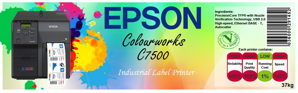 Epson C7500 Colour Lable Printer