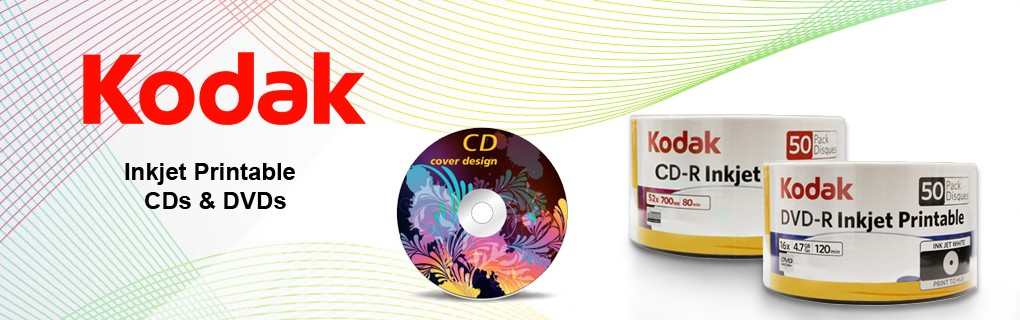 KODAK CD and DVD